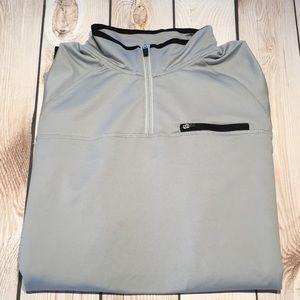 Fila men's lightweight 1/4 zip pullover shirt